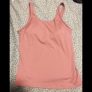 NWOT**all in motion Built-In Bra Workout Tank